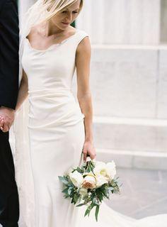 Photography: Joey Kennedy Photography - http://www.stylemepretty.com/portfolio/joey-kennedy   Read More on SMP: http://www.stylemepretty.com/2015/04/19/romantic-chic-art-gallery-wedding/