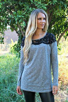 Lace Detail Tunic on Jane.com! #Womens #Clothing #Fashion