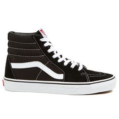 This Vans SK8 Hi is one of the most iconic Vans Shoes out there. If you don't like it as a high top, cut off the high part and duct tape it up so it stays. Everyone needs at least one pair of retro hi