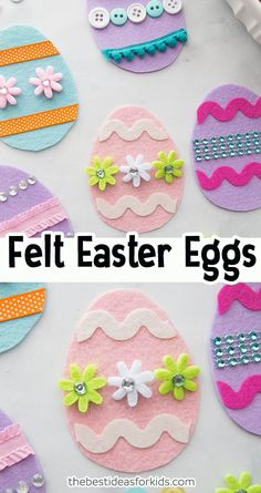 bunny makeup halloween rabbit - Invitation to Create Felt Easter Eggs Easter Arts And Crafts, Easter Activities For Kids, Bunny Crafts, Easter Crafts For Kids, Spring Crafts, Holiday Crafts, Easter Ideas, Felt Crafts Kids, Crafts For Teens To Make