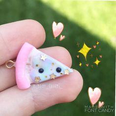 #kawaii #charms #polymer #clay #pizza