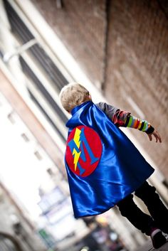 Superhero Cape PERSONALIZED COSTUME  boy Birthday by pipandbean, $25.00