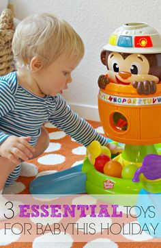 3 Essential Learning Toys for Babies this Holiday
