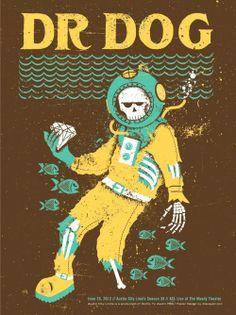 'Dr Dog' poster - Doe Eyed