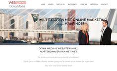 Get Social Nederland - Dylan Donia en Marika Porrey (van de Websitewinkel) helpen ondernemers bij social media, natuurlijk met een nieuwe website