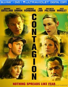 Contagion Blu-Ray Review & Podcast.