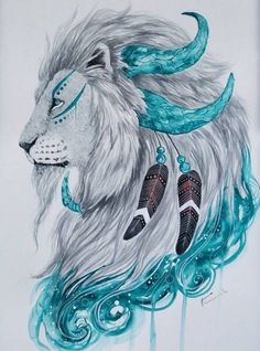 Fabulous Watercolor Pencils works by Finland Artist Jonna Scandy Girl… Animal Drawings, Cool Drawings, Lion Art, Desenho Tattoo, Pencil Art, Animals Beautiful, Art Sketches, Lions, Amazing Art