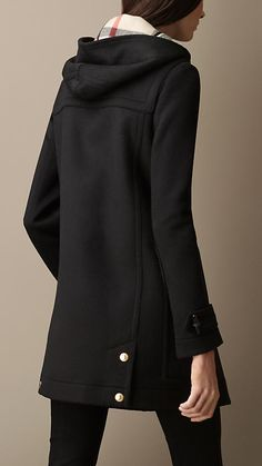 Straight Fit Duffle Coat | Burberry Brit