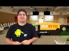 DevBytes: Action Bar (Portuguese) - YouTube