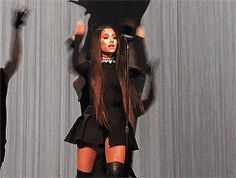 Be Alright - Dangerous Woman Tour in Buffalo, NY Ariana Grande Singing, Ariana Grande Hair, Ariana Grande Fotos, Ariana Grande Dangerous Woman, Dangerous Woman Tour, Bae, In Pantyhose, Queen, Most Beautiful