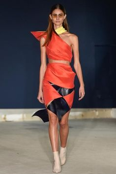 London Fashion Week Day 4  Thomas Tait Spring/Summer 2015  Ready to wear  15 September 2014