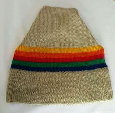 Vintage Ski Hat Cap 100% Wool Snowboard Minnetonka Marceau Sports 80s