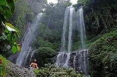 Let Nature Guide You - Sekumpul Waterfalls, Bali by Artstudio23