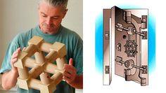 Formas intrigantes, o cubo e o cofre impossível