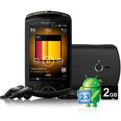 Celular Android 2.3 Sony Ericsson Xperia Live WT19a Preto 3G Câmera 5MP GPS Wi-Fi Touchscreen Desbloqueado Bluetooth MP3 Player Cartão 2GB