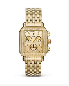 Deco Gold Diamond, Diamond Dial Watch on Bracelet-------------For more Information Call Us At: (866) 264-9759 Or Visit: haroldfreemanjewelers.com   www.youtube.com/watch?v=dXT8vy4e8c4 www.facebook.com/HaroldFreemanJewelers