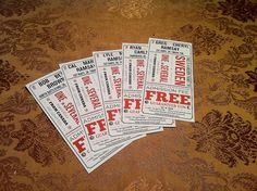 Ticket Design Ideas Ticket Desgin Pinterest Ticket Printing