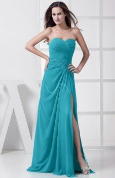 a-line sweetheart chiffon floor length bridesmaid dresses . the chiffon, a-line wedding guest dresses, bridesmaid dresses ends with floor length hemline that mbellished with split-front. Discount Bridesmaid Dresses, Turquoise Bridesmaid Dresses, Bridesmaid Dresses Plus Size, Evening Dresses, Prom Dresses, Formal Dresses, Dress Prom, Dress Long, Teal Dresses