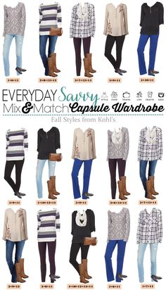 1a712726c524c4 15 Mix and Match Cozy Casual Fall Outfits from Kohls