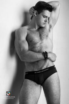 Ben Todd Sexy in Black and White by Joem Bayawa