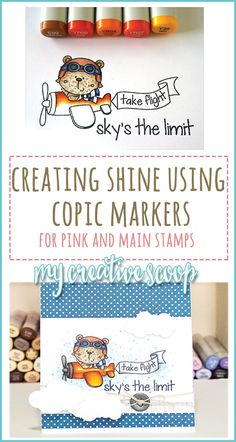 Creating Shine using Copic Markers