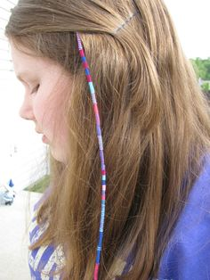 macrame hair wraps on pinterest hippie hair extensions