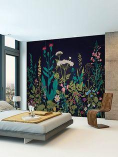 Brewster Botanical Fleur Wall Mural