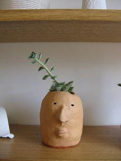 Pot Heads planter