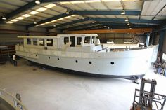 This superb motor cruiser shell is now offered for sale as is, completed as a saleaway or full completed as a 5 star luxury liveaboard cruising motor boat. She is ideal as a floating apartment in one ofthe UK or Europe's major cities.