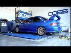Image for COBB Tuning Dyno 300 WHP 340WTQ 1999 Subaru 2 5RS GC8 STI Swap