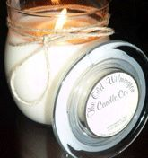 """I admit, I am a candle snob.  I'm not overly fond of the popular Yankee Candles.  I prefer more non-traditional scented candles, like """"Oakmoss and Amber"""" and """"Cape Fear Breeze"""" from the Wilmington Candle Company.  They are strong, pleasant, but not overpowering.  You won't smell anything quite the same from other candle companies, in a good way.  Plus they are 100% soy, and if you send the empty jar back you get a 10% discount on your next order."""