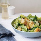 Caesar Salad with Crispy Tofu Croutons, Recipe from Cooking.com