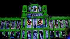 Wien leuchtet 2016 - projections by ProjectionArt and Lichttapete / Art History Museum Vienna History Museum, Art History, Vienna, Around The Worlds, Design