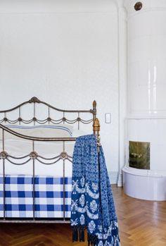 White and Blue in a Scandinavian House // Бяло и синьо в скандинавски дом | 79 Ideas