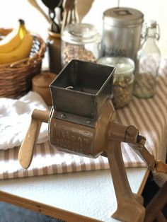 Excited to share this item from my shop: Vintage Swedish Hälsan kitchen tool Grinder Grater Swedish Weaving, Grater, Coffee Set, Candlestick Holders, Nordic Design, Retro Look, Miniture Things, Kitchen Tools, French Antiques