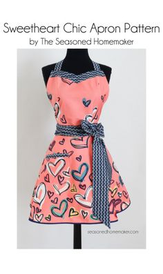 Sweetheart Chic Apron Pattern | YouCanMakeThis.com