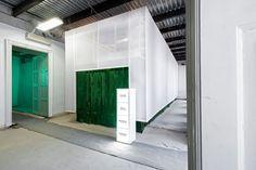 Heineken Pop up store for the Central European Fashion Days by Kiss Miklós, Budapest » Retail Design Blog