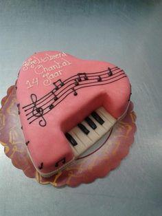 piano taart Piano Cakes, Piano Recital, Cakes For Women, Funfetti Cake, 3d Cakes, Specialty Cakes, Sugar Art, Fancy Cakes, Love Cake
