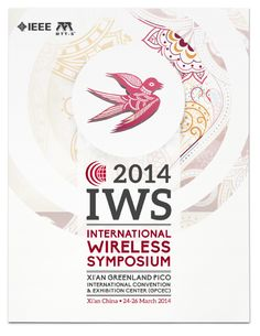From March 24-26, the brightest minds in wireless research and technology will flock to Xi'an, China for the 2014 International Wireless Symposium.  Inward's design team wanted to capture the spirit of Xi'an through an angular, wide-set typography that is reminiscent of Chinese calligraphy. The songbird and plum colored flowers are common elements in Chinese art and offer a special aesthetic interest to the cover.  #greatdesign #marketing #inwardsolutions