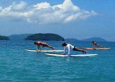 #SUP Yoga, #Retreats, #Costa Rica