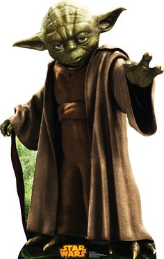 Complete your Star Wars party supplies with our Yoda Life-Size Cardboard Cutout. This Yoda cutout is great for DIY photo booths and Star Wars party decorations. Star Wars Film, Star Wars Yoda, Star Trek, Star Wars Party, Star Wars Birthday, Clone Wars, Obi Wan, Jedi Meister, Yoda Species