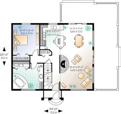 Colonial Saltbox House Plan 94007 House Plans Salts And