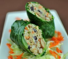 Lotus Foods Collard-Rice-Bean-Wrap