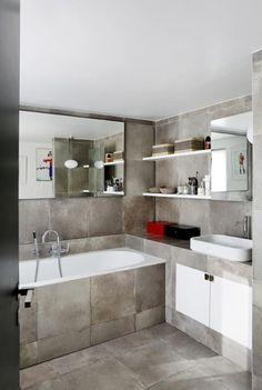 Lo specchio in bagno