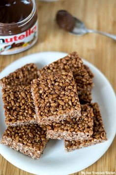 Nutella Rice Krispies Treats