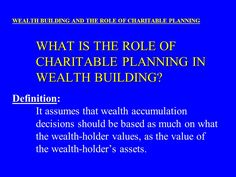 health wealth and providence | TRADITIONALLY, HOW IS IT ACCOMPLISHED? WEALTH BUILDING AND THE ROLE OF ...