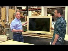 How to Frame Your Flat Screen TV - YouTube