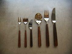 Bertel Gardberg rosewood cutlery for Hackman