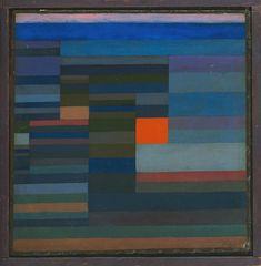 Fire in the Evening by Paul Klee, 1929