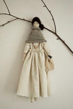 Alessandra Taccia is busy making some beautiful new dolls at nodi
